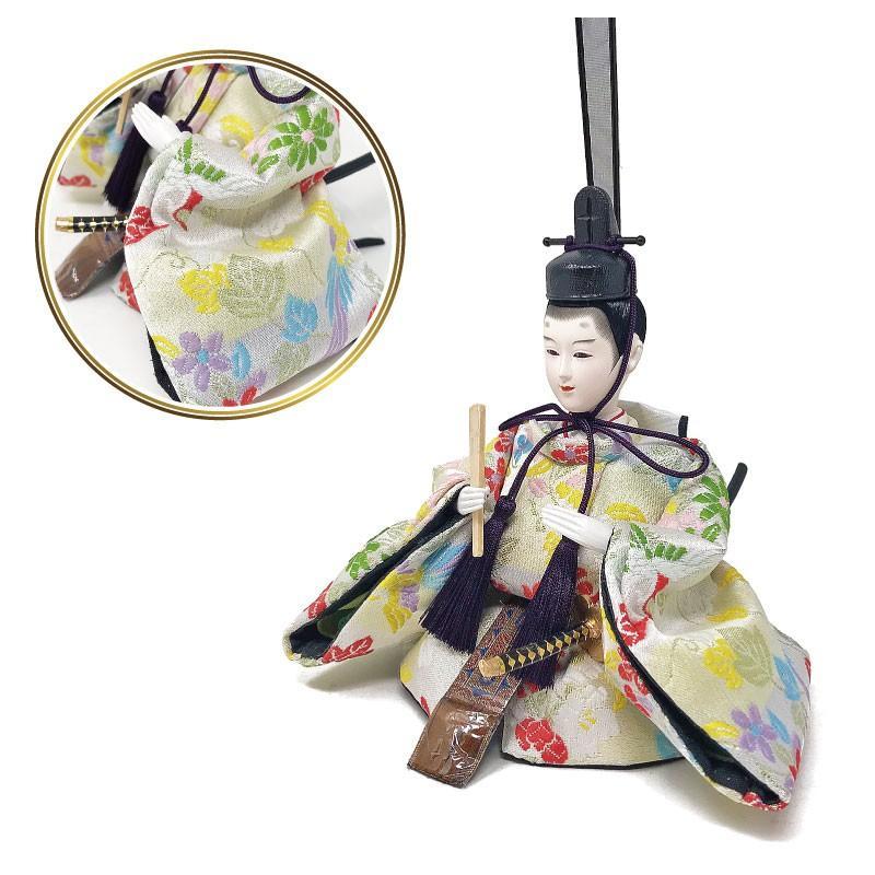 雛人形 ひな人形 壁掛けL字ケース コンパクト 雛 親王飾り ningyohonpo 06