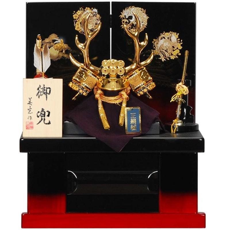 五月人形 兜 収納飾り 真田幸村 幅38cm [sb-15-126]