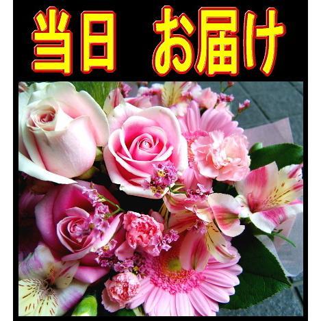 当日即日発送 あすつく アレンジメント 結婚記念日 バレンタイン (花束 誕生日プレゼントにも変更可能)