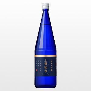 日本酒 上善如水 純米大吟醸 1.8L|ninsake-jozen