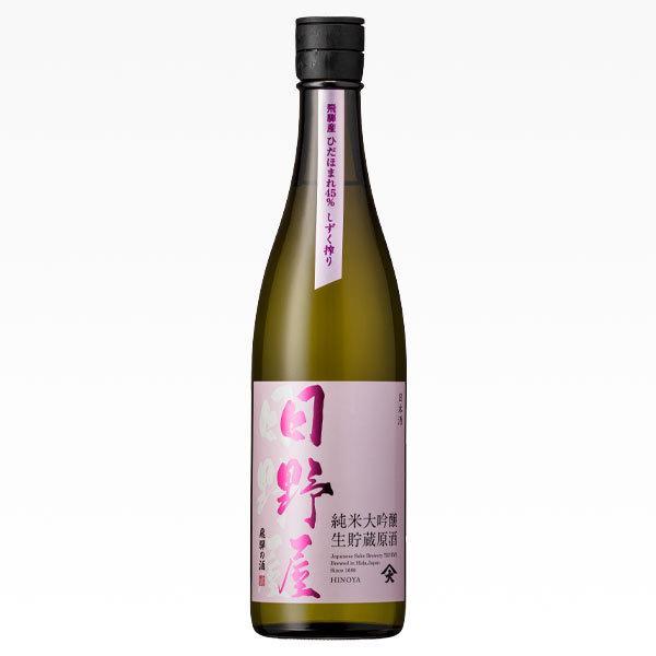 日野屋 純米大吟醸 生貯蔵原酒 720ml|ninsake-tenryou