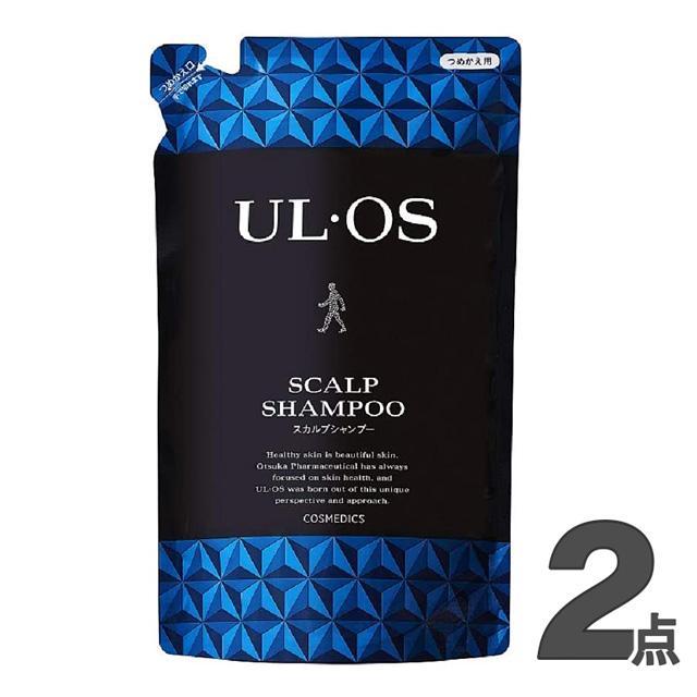 ウルオス 薬用スカルプシャンプー 詰め替え用 420ml 無料 UL 通常便なら送料無料 OS 大塚製薬 ×2個セット