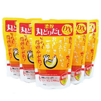 丸どりだしデラックス(250g×20袋) 無添加・無脂肪 酵母エキス不使用 日本スープの丸鶏スープストック|nippon-soup