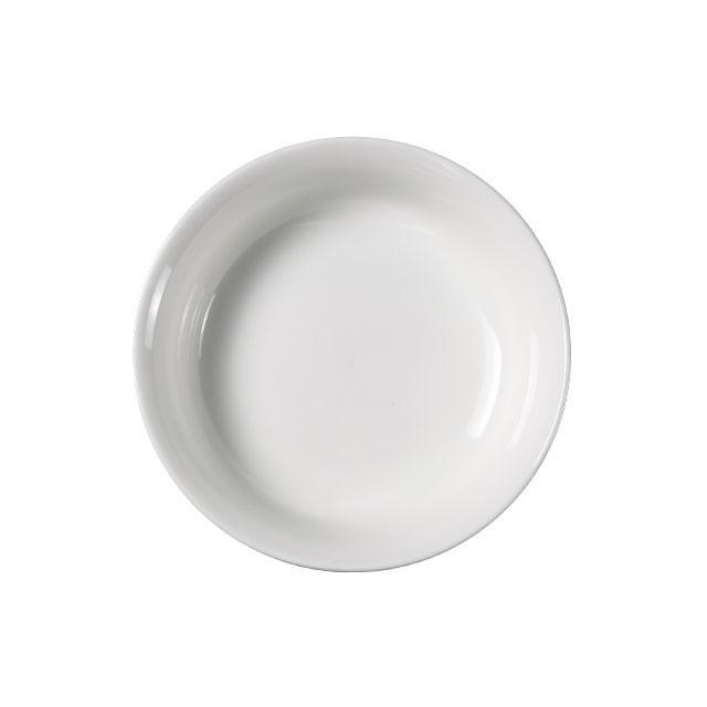 ペット用食器 広口 270ml  白磁 無地 おしゃれ フードボウル 強化磁器  小さい ポーセラーツ|nishida-store|02