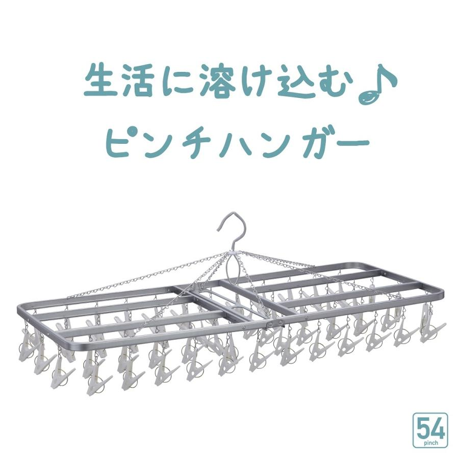 洗濯ハンガー ピンチハンガー 物干しハンガー  54ピンチ  日本製  洗濯ばさみ|nishida|04