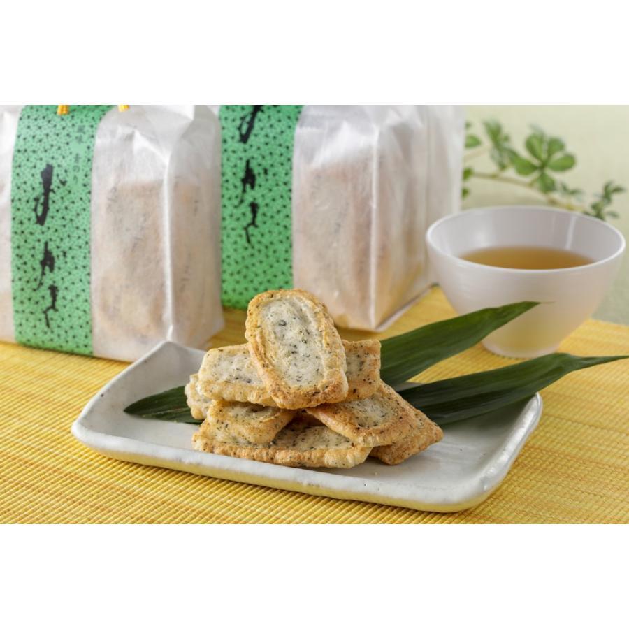【青のりおかき】和紙袋(18枚入り) nishidaseika-store 02