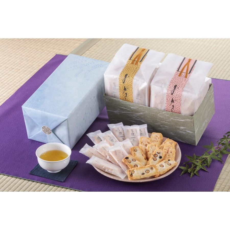 【豆・海老おかき】和紙袋 2種詰め合わせ|nishidaseika-store|03
