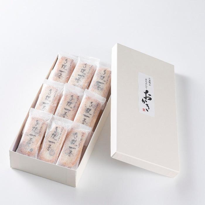 【丹波篠山黒大豆おかき】進物缶 小判(25枚入り) nishidaseika-store