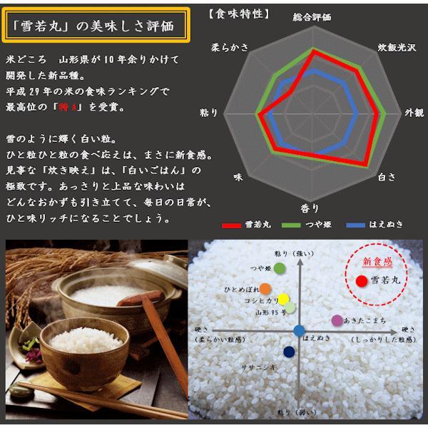 【新米】雪若丸 (令和3年産)玄米 20kg nishiduka-farm 02