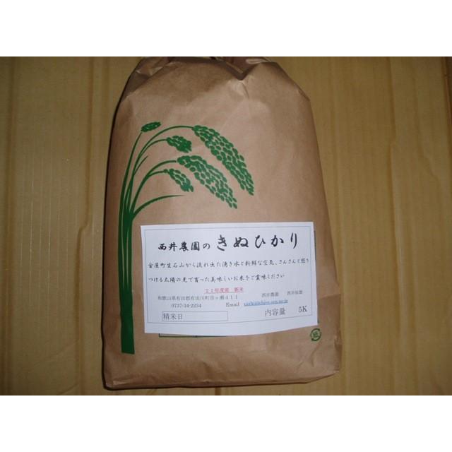 キヌヒカリ 10キロ入り|nishii-organic