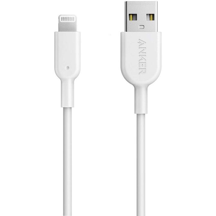 Anker iPhone充電ケーブル PowerLine II MFi認証 0.9m ライトニングケーブル ホワイト 激安通販販売 年間定番