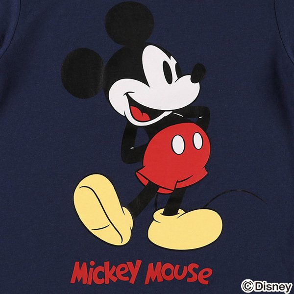 スタンドミッキー半袖Tシャツ【100cm・110cm・120cm・130cm】 nishimatsuya 08