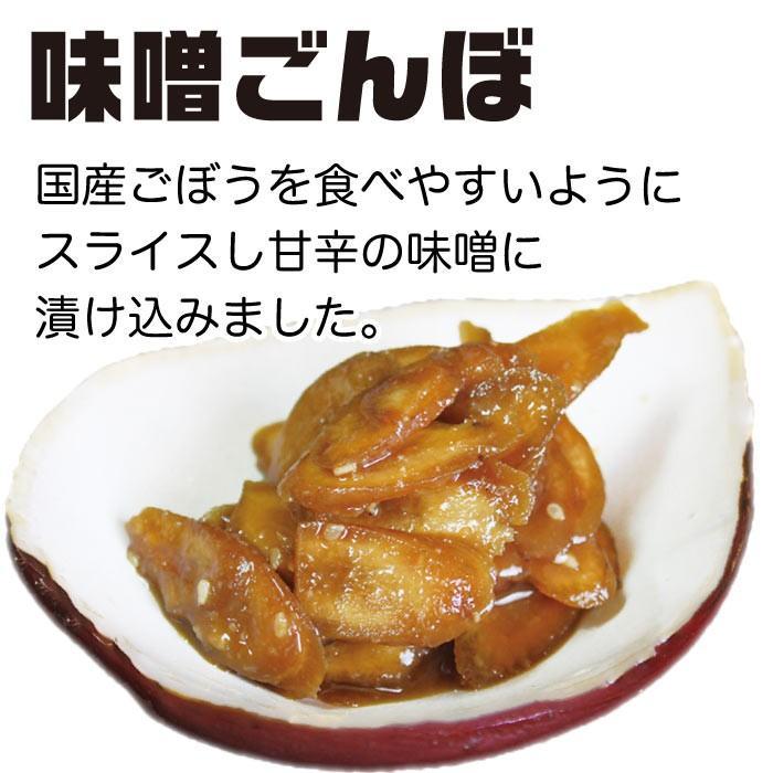 漬物 送料無料 味噌漬け ごぼう味噌漬け 200g×2袋  倍々ストア 倍倍ストア ペイペイ ポイント消化 食品 得トク2weeks セール 2021|nishino-ya|02