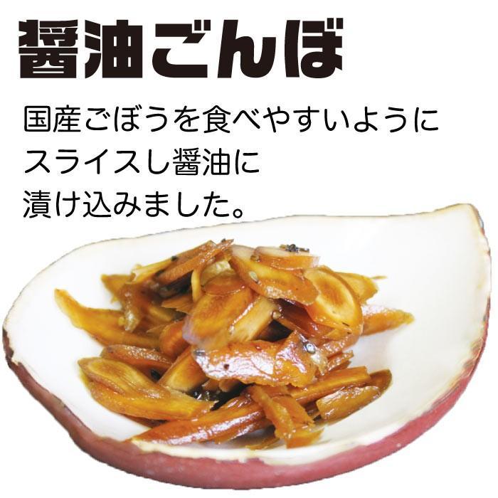漬物 送料無料 ごぼう醤油漬け 200g×2袋 トクプラ商品 食品 ペイペイ 得トク2weeks ご飯のお供 お取り寄せグルメ セール 2021|nishino-ya|02