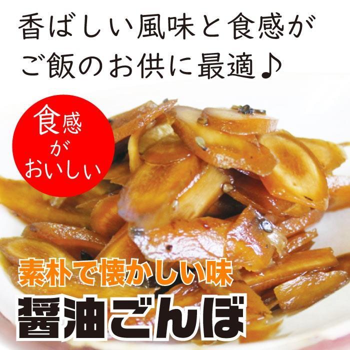 漬物 送料無料 ごぼう醤油漬け 200g×2袋 トクプラ商品 食品 ペイペイ 得トク2weeks ご飯のお供 お取り寄せグルメ セール 2021|nishino-ya|07