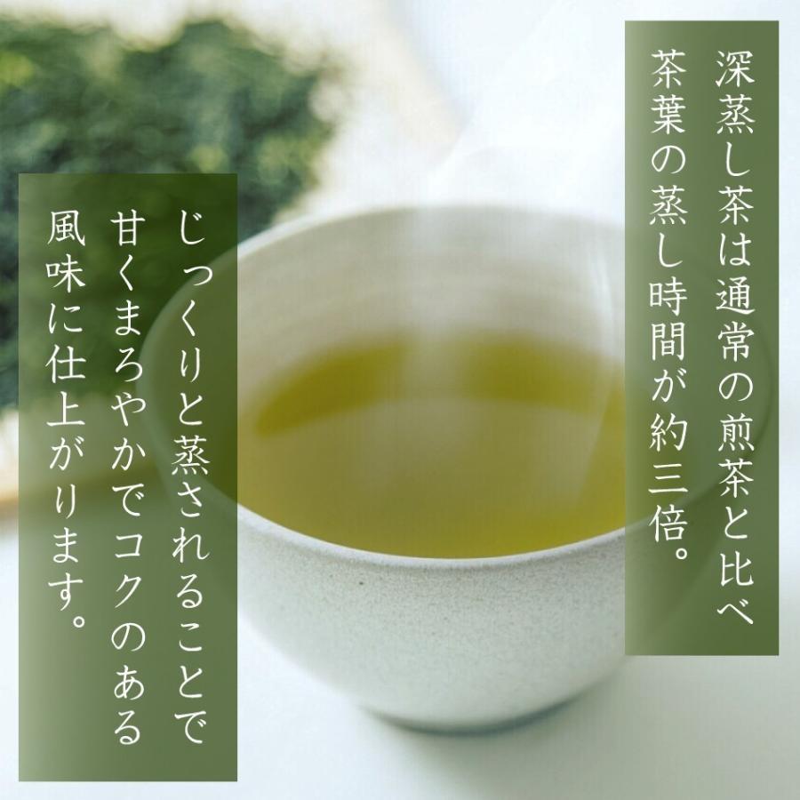 【2021年度産 新茶】かのや深蒸し茶 山霧(やまぎり)100g×2袋セット 減農薬栽培茶 さえみどり やぶきたブレンド nishio-cha 03