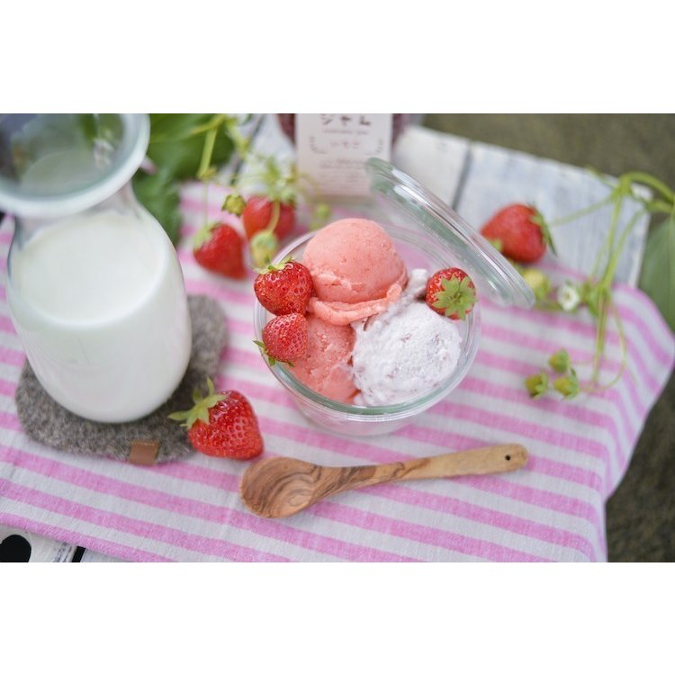 全部試したい★農家の冷凍勝占いちご・ジェラート・ジャムのよくばりセット|nishioka3gyou|12