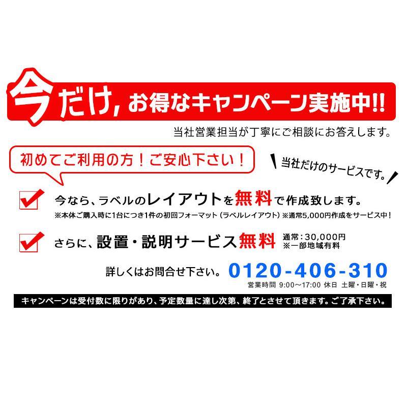 SATO FI212T ラベルプリンター お得なサービスセット 無料 サトー バーラベ  Barlabe 標準仕様 USBモデル SDカード付 旧WWF212021 フォーマット1件 サービス|nishisato|07