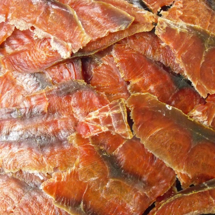 鮭スライス 95g 1000円 珍味 おつまみ 鮭とば サケ 乾き物 お取り寄せ ランキング 酒の肴 業務用 訳あり 大袋ファミリーサイズ nishizawach 03