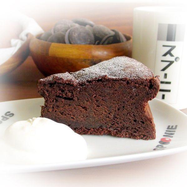 ガトーショコラ ベルギー産 濃厚 チョコとバンホーテンココアを贅沢使用 5号(15cm)|nissenren-numazu|03