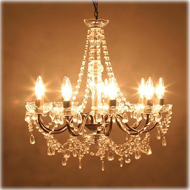 LED電球 シャンデリア型 40W形相当 電球色  480lm シャンデリア用LED電球E12 E14 E17 E26 口金 クリア電球 全配光タイプ nissin-lux 07