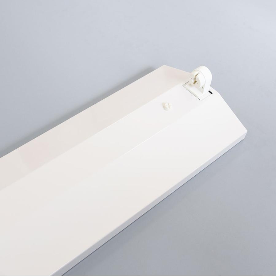 LED蛍光灯器具 逆富士型 40W形1灯用 led蛍光灯 器具一体型 LEDベースライト型 led蛍光灯 40w形直管付き|nissin-lux|03