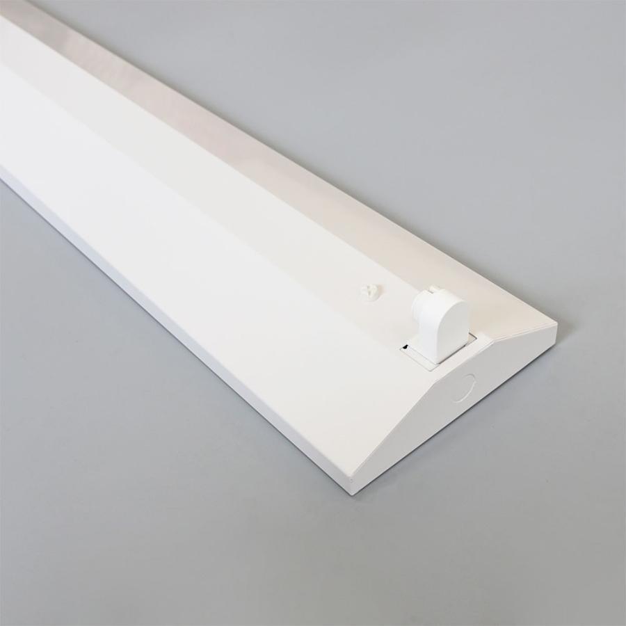 LED蛍光灯器具 逆富士型 40W形1灯用 led蛍光灯 器具一体型 LEDベースライト型 led蛍光灯 40w形直管付き|nissin-lux|04