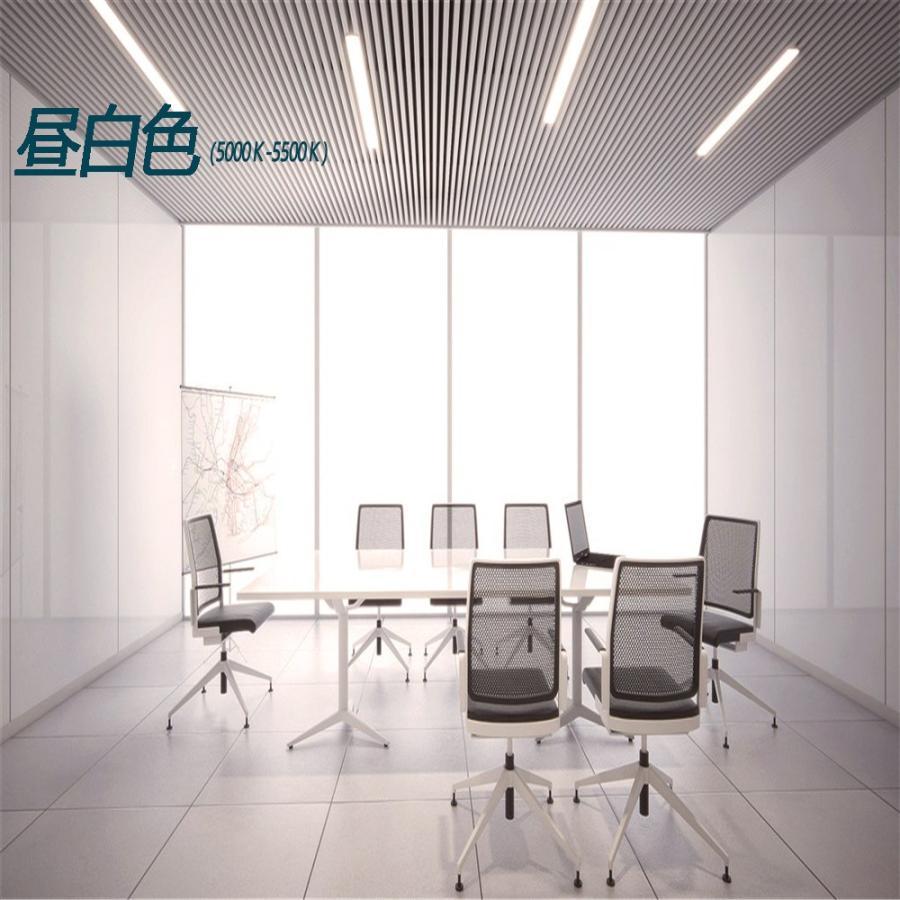 LED蛍光灯器具一体型 40W形2灯相当 昼光色 昼白色 電球色 led蛍光灯一体型 超高輝度 led直管蛍光灯 80W形相当 LEDベースライト1.2m 薄型 nissin-lux 07