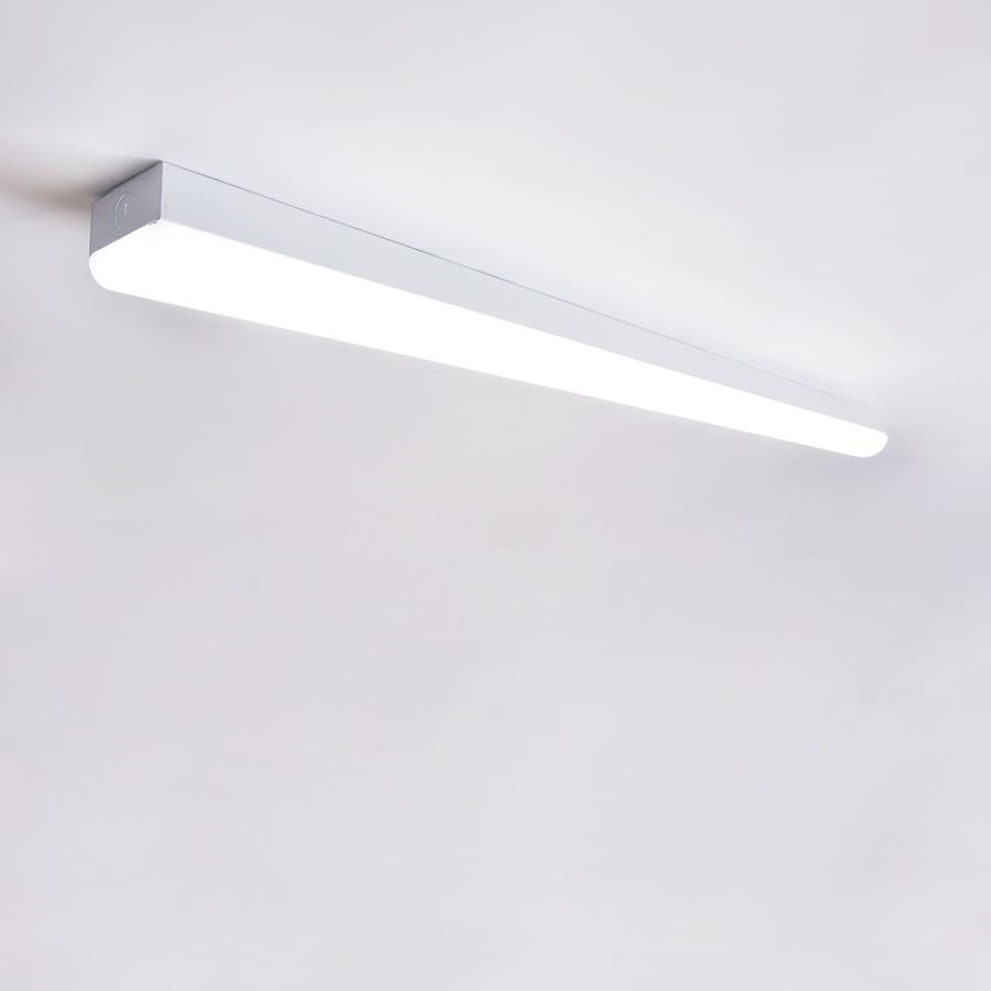 LEDベースライト 器具一体 40W形 2灯相当  一体型LEDベースライト40形 トラフ型 直付型 昼白色 昼光色 電球色|nissin-lux|06