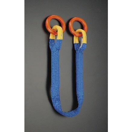 [1本吊り]両端金具付スリング (1.5m/使用荷重1.5t)