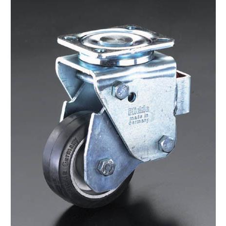 金具付キャスター(スプリング付)(自在/200X50mm[車輪径X幅])