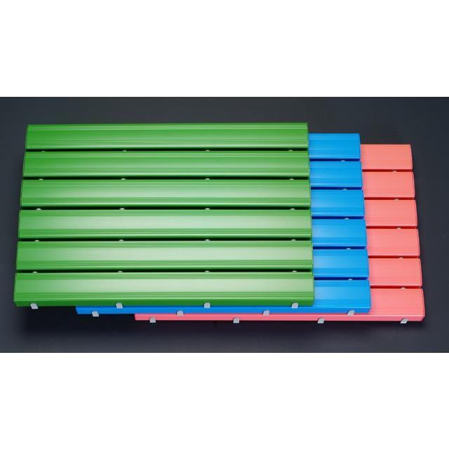 [プラスチック製]すのこ(抗菌/600×1160×48mm/ピンク)