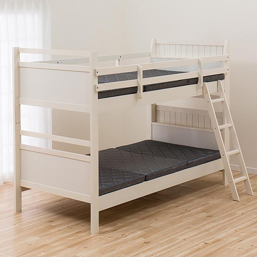 2段ベッド リク NEW ARRIVAL ZE WW 配送員設置 5年保証 35%OFF ニトリ