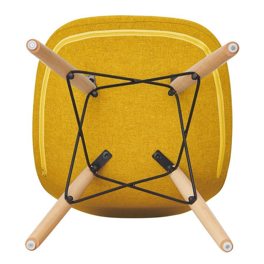 デザインチェア(チェア K1195FW ゴールド) ニトリ 『玄関先迄納品』 『1年保証』|nitori-net|06