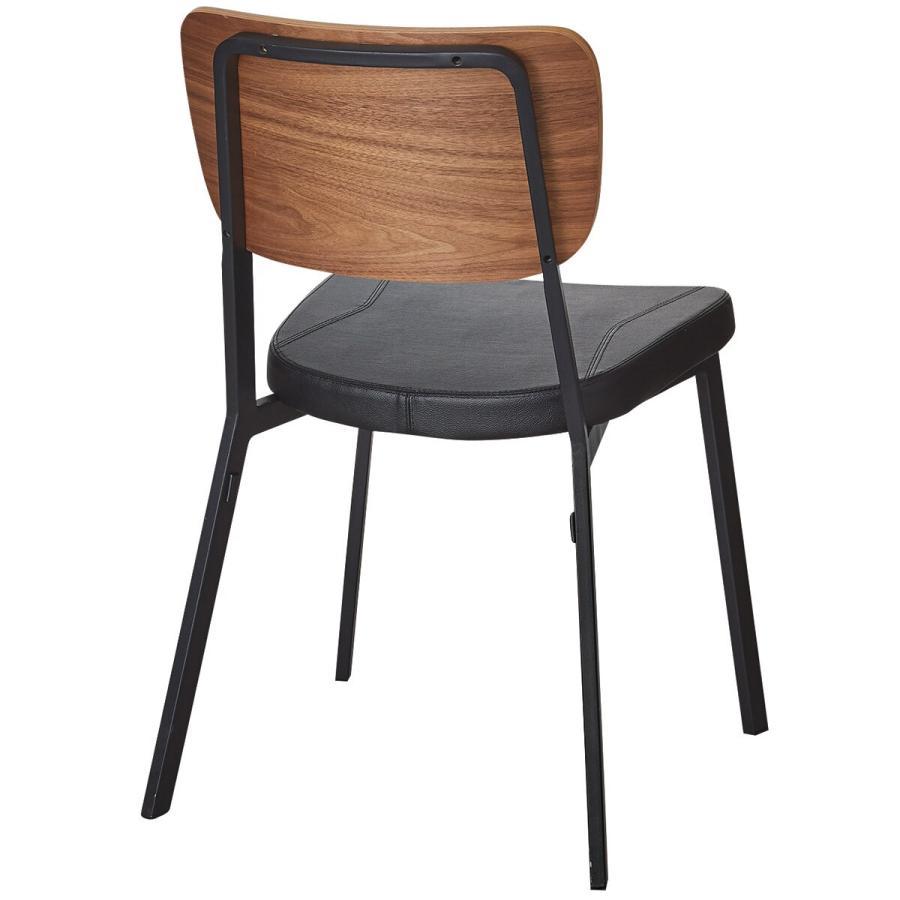 木製チェアクッション付き(チェア B999C 45ウォルナット) ニトリ 『玄関先迄納品』 『1年保証』|nitori-net|05