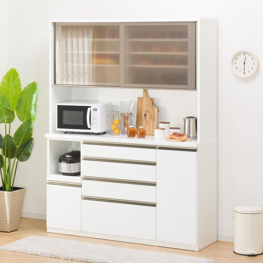 キッチンボード(ラピス 157 ホワイト) ニトリ 『配送員設置』 『5年保証』