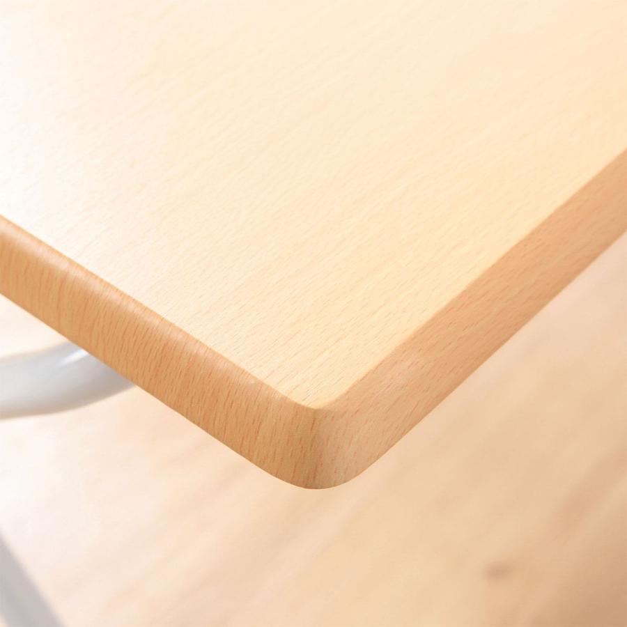 折りたたみコンパクトデスク(フレッタ LBR) ニトリ 『玄関先迄納品』 nitori-net 03