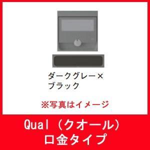 郵便受箱・ポスト 杉田エース 249-687 Qual クオール 口金 【15タイプ】 ダークグレー×ブラック