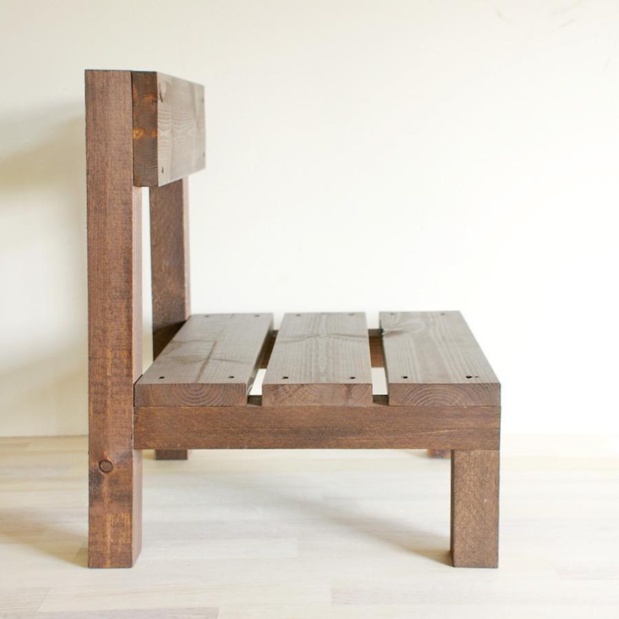 木製ミニ椅子 鉢台チェア|niwazakka|03