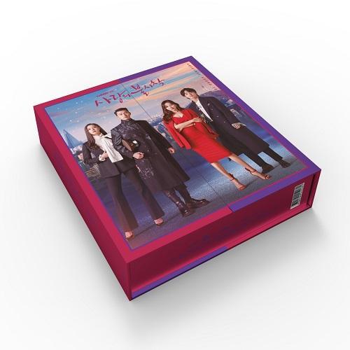 韓国音楽CD『愛の不時着 O.S.T』ヒョンビン、ソン・イェジン主演 ドラマ (2CD+フォトブック104P+ミニポスター2種+フォトカード2種) niyantarose