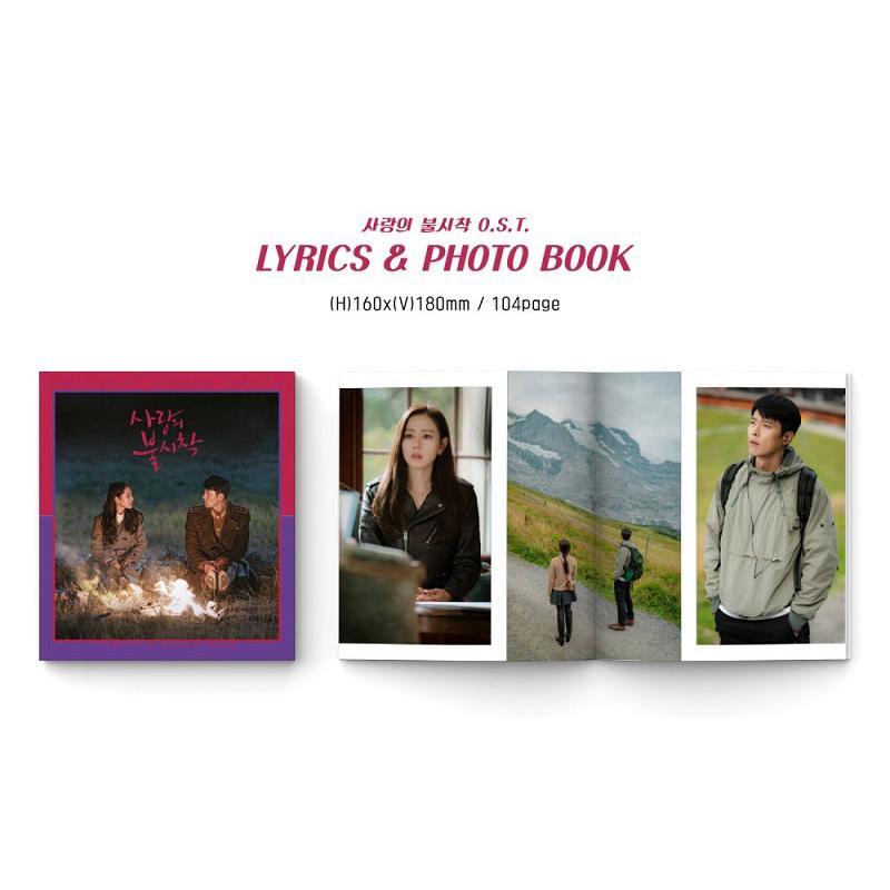 韓国音楽CD『愛の不時着 O.S.T』ヒョンビン、ソン・イェジン主演 ドラマ (2CD+フォトブック104P+ミニポスター2種+フォトカード2種) niyantarose 03