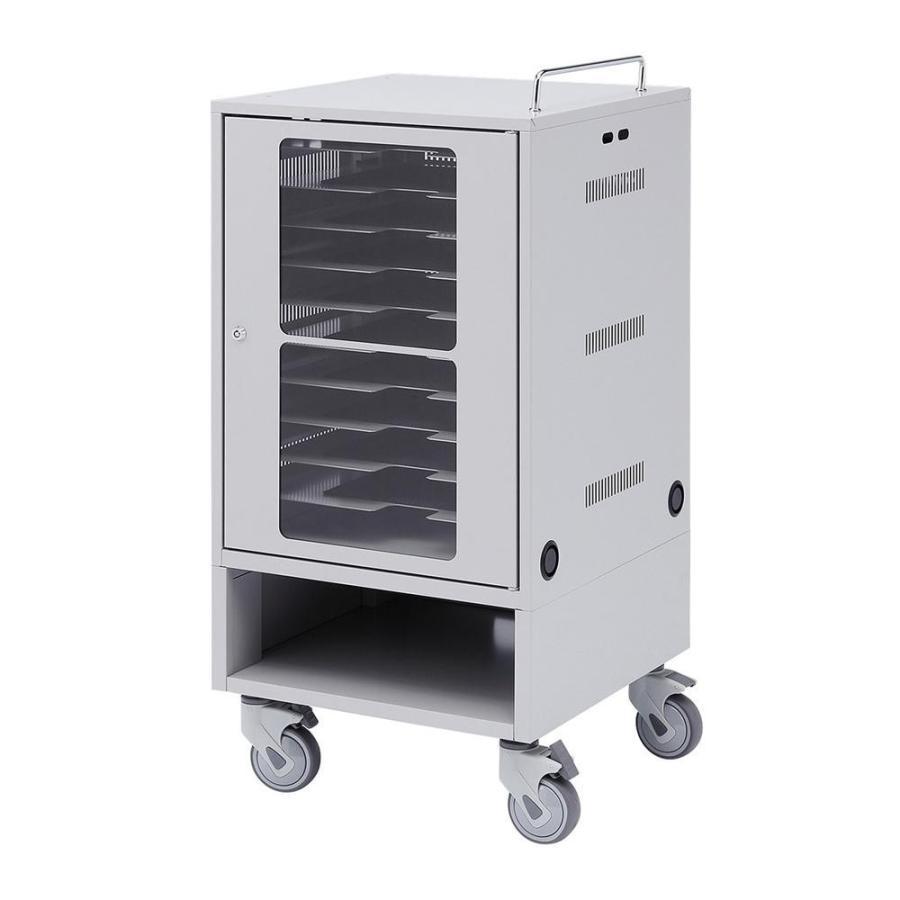 送料無料 サンワサプライ タブレット収納保管庫(10台収納) タブレット収納保管庫(10台収納) CAI-CAB23 代引・同梱不可