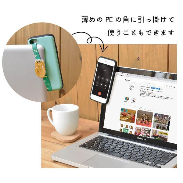 (ネコポス発送可)デコレ SN-79511-13 スマホバンドストラップ デコレ DECOLE ゴム バンド スマートフォン 携帯 アクセサリー|noahs-ark|03