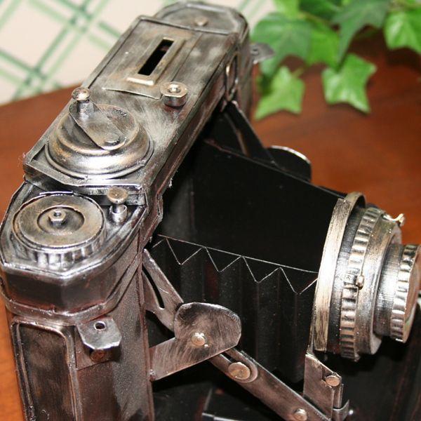 ≪セール30%オフ≫輸入雑貨 小物入れ 貯金箱 カメラ ヴィンテージ レプリカ noainterior 02