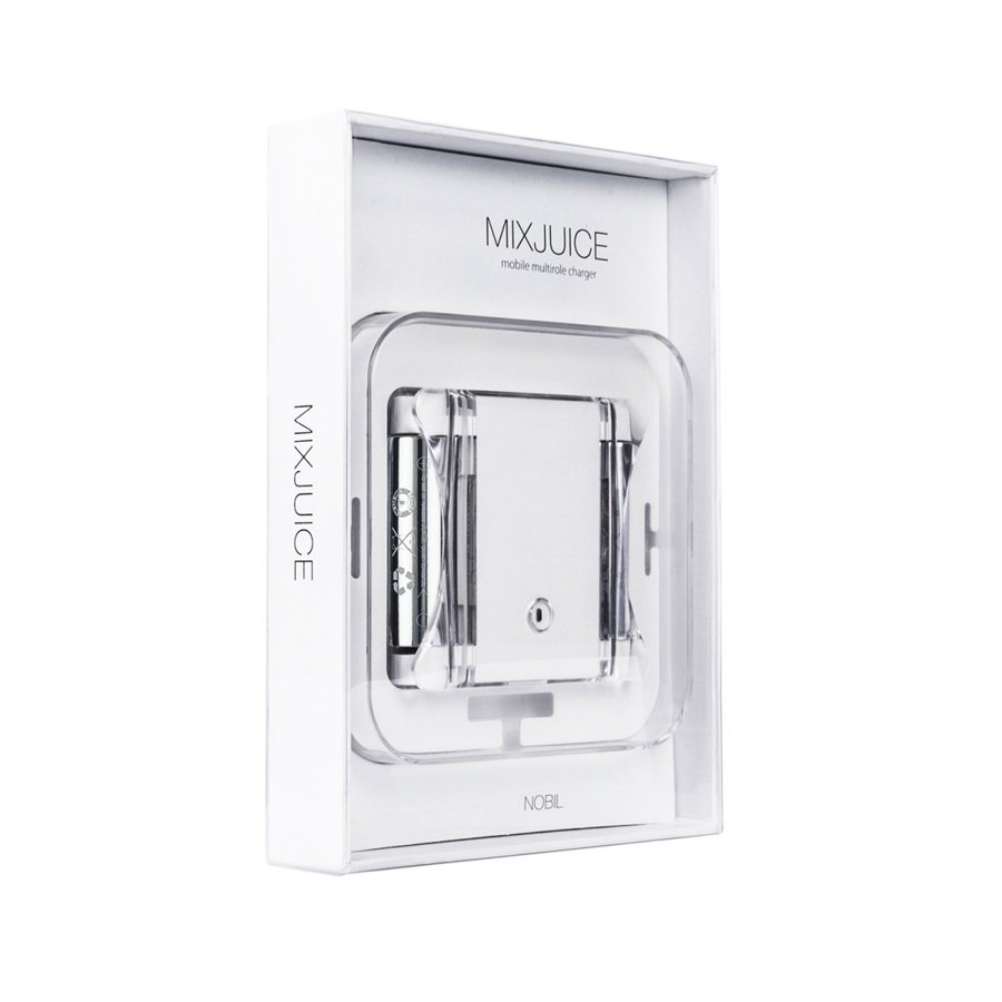 NOBIL MIXJUICE 1台3役 モバイルバッテリー[ モバイルバッテリー × ACアダプター × 単3形・単4形ニッケル水素電池 充電器 ]|nobil-store