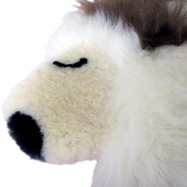 ムートン クッション 羊くん AUSKIN かわいすぎて座れない?でも座り心地抜群のふわふわ天然ムートン ギフトにも人気|noble-collection|02