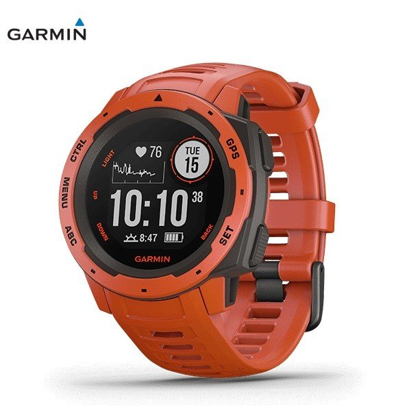 GARMIN Instinct FLAME 赤 ガーミン インスティンクト フレームレッド 国内正規品 0100206432