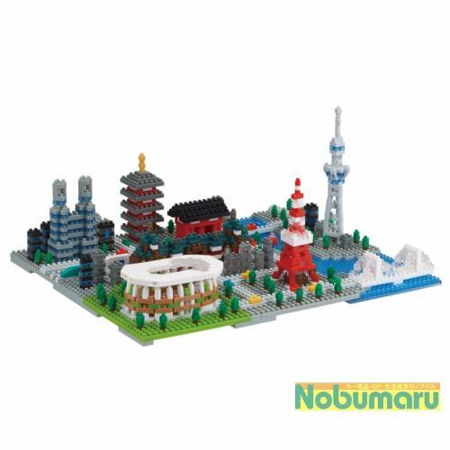 nanoblock ナノブロック 東京 NB-040 送料無料