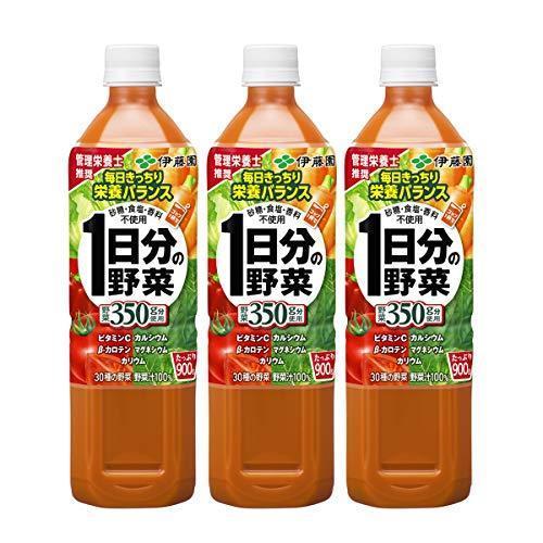 伊藤園 1日分の野菜 900g×3本|nocciola