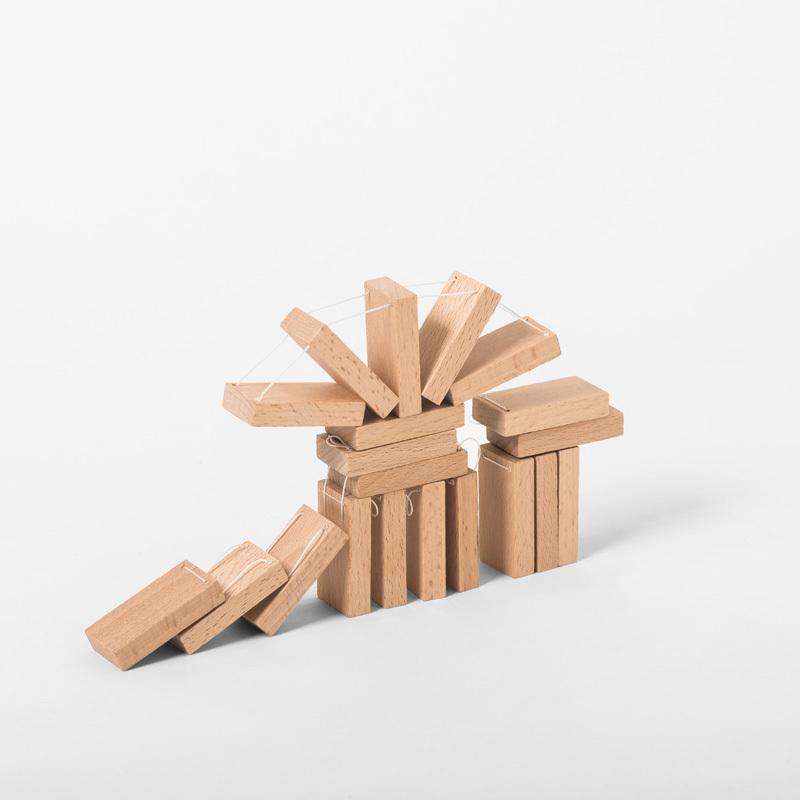 木のおもちゃ DOMIGO(ドミゴ)プレゼント ノベルティ 積み木 ドミノ 知育玩具 nochida 13